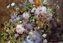 FLOWERS PAINTING / Paintings of flowers