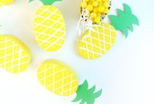 Pineapples! / Pineapple crafts, printables, stationery & inspiration.