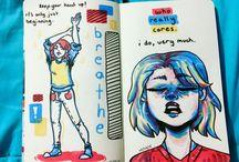 ART: notebook&journals