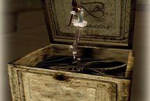 DIY Jewelry ballerina box