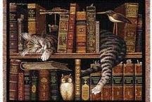 Bookish Cats / by Tamye Machina