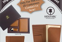 New Leather Special  Gift Set / New Leather Special Gift Set launch by HIDEPARK