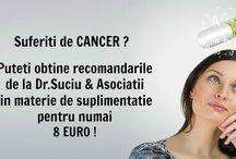 Protocoale Dr.Suciu & Asociatii / Puteti obtine recomandarile de la Dr.Suciu & Asociatii in materie de suplimentatie pentru numai 8 euro!
