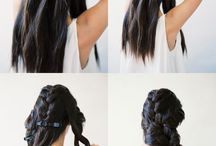 DIY hair Braids