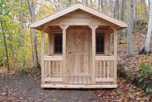 Cubby house storage house
