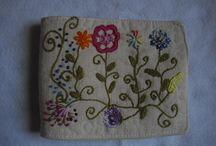Meus bordados livres feito à mão - Embroidery / Diversos tipos de pontos. Embroidery.