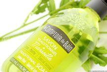 Le Comptoir du Bain en liquide savon de Marseille parfum citron-menthe