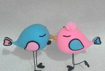 passarinhos  noivos