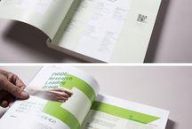 책자, 인쇄 디자인
