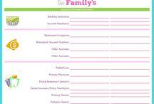 Family organization / by Christine Skrzypek