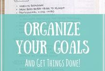 organise your goals