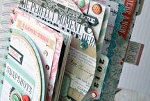 Mini Scrapbooks ~ another addiction! / by Helen Murphy