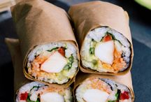 Sandwich, Burger, and Wrap Recipes (featuring sprouts!)