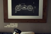 Interiors for men / by Kitty Kits