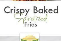 Spiralised Cooking Ideas