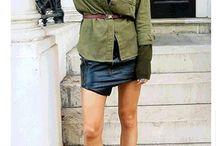 Образы: мини юбка