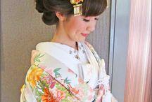花嫁和装ヘア