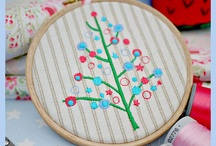 embroidery hoop crafts / by Wendy Felton
