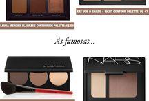 paleta de maquiagens