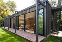Container homes / by Genie Sullivan