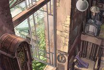 animation interior concepts