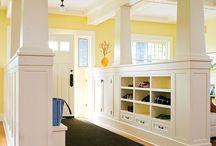Hallways & 7 anterooms