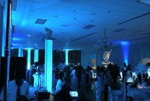 Event Lighting / Wedding and Event Up Lighting and Accent Lighting