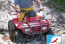 Quad Biking / Quad biking involves travelleing around the Welsh countryside on 250cc Honda quad bike or ATV