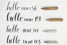 Calligraphy tutorials & info
