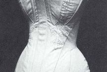 Corsets and underpins 1830-1840