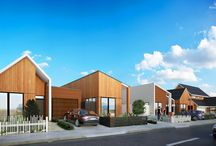 The De Havilland Quarter / Behind the scenes insight into the construction of a modern housing development in Auckland