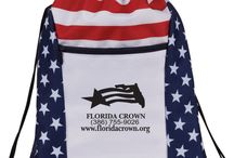 Red, White, and Bling / Patriotic Theme Golf Tournament Ideas / Fun tee and contest prize ideas for your upcoming Red, White, and Bling / Patriotic themed golf tournaments! We can also help customize these ideas with your tournament logo/name.