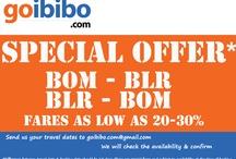 Special Offer For Bom-Blr, Blr-Bom Sector