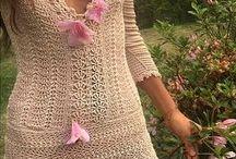 vestido novias crochet