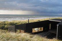 Hytte nær sjø, inspirasjon