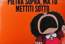 Mafalda e Linus