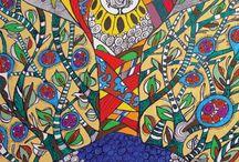 """Exhibition """"MARCOS AKASAKI"""" / """"Marcos Akasaki manipula a realidade e extrai da vida a matéria-prima para a sua ficção. A magia do artista vem da linguagem aparentemente simples, contudo carregada de simbolismos e nos convoca a celebrar a vida"""" José Roberto Moreira."""