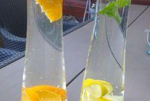 water met een smaakje / welke toevoegingen zijn lekker aan water