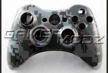 Xbox 360 Custom Controller Shells / Glossy, Matte, Chrome and Hydro-dipped shells all perfectly designed for your Xbox 360 controller! / by GamerModz