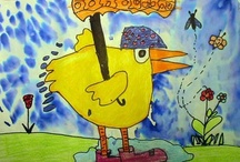 Art for Grades 1 & 2 / by Sylvia Seaglass