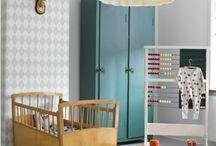 Kid Spaces / Beautiful kid bedrooms and playrooms, baby nurseries.