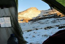 Tent-rooms with Drakensberg Views