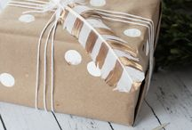Gift Wrapping / Break out the craft supplies to create one-of-a-kind gift wrap the kids will love making AND giving.
