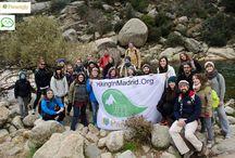 COLLADO CABRON. EXCURSION NOVIEMBRE DE 2015.  HIKING IN MADRID. ACADEMIA PARANINFO. / Excursión al Collado del Cabrón, realizada por Hiking in Madrid a finals de noviembre de 2015. Academia Paraninfo.