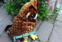 Peluş baykuş