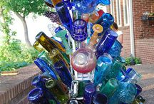 I Love Bottle Trees!! / I've been in love with bottle trees for years! I'm so glad I've been seeing some around! / by Kathi Artigliere