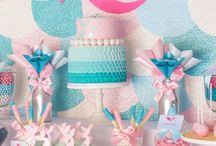 Enchantails: Mermaid Party / For all your Enchantails™ slumber party needs! #mermaidparty #birthdayparty #mermaids #mermaiddesserts #mermaidcrafts #underthesea