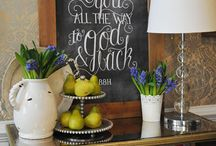 Chalkboard / by Jennifer Plant