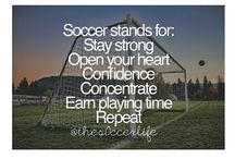 Soccer stuff / by Katie Grear