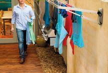 Clothesline area
